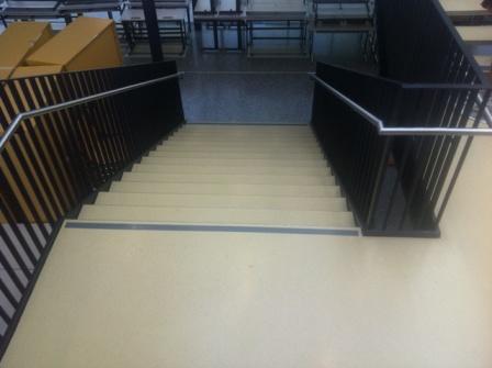 Epox Beschichtungen Stiegenbeschichtung Stahltreppe 02